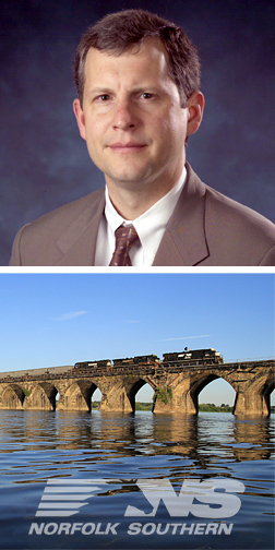 James Squires of Norfolk Southern